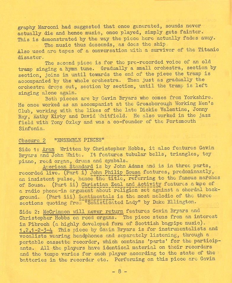 Enovations Newsletter May 1976 (page 8)