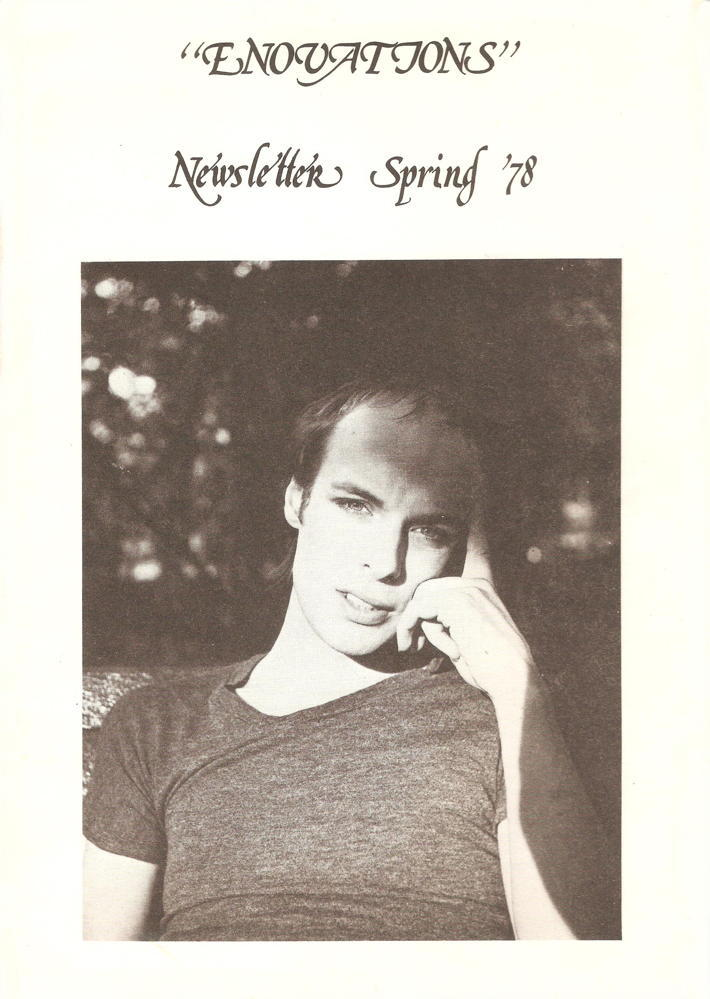 Enovations Newsletter Spring 1978 (front cover)