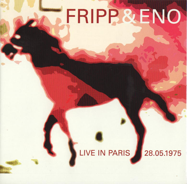 Fripp & Eno Live In Paris (box cover)