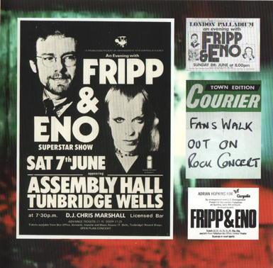 Fripp & Eno Live In Paris