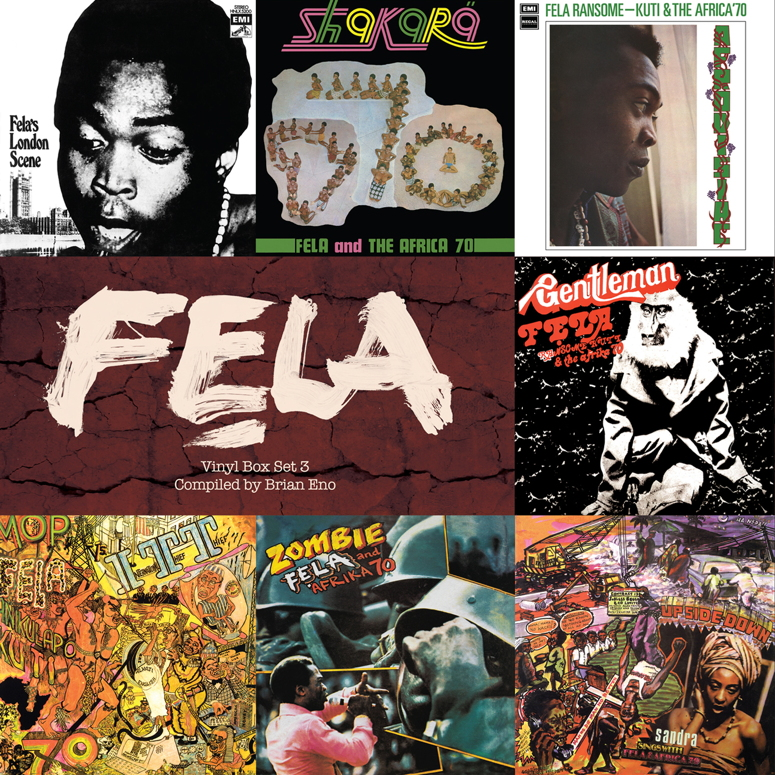 Fela Vinyl Box Set 3 Compiled by Brian Eno