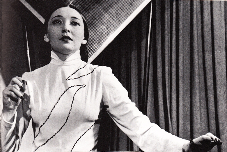 Clara Rockmore playing the theremin