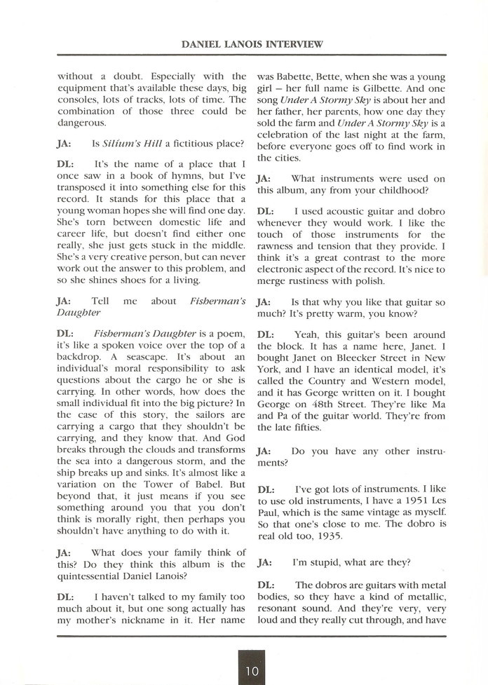 Opal Information: Number 15 (page 10)